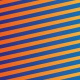 Orange blaue Linien Hintergrund des abstrakten Vektors Lizenzfreie Stockfotos