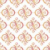 Orange blend tile Stock Photos
