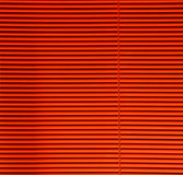 Orange blinds Stock Image