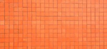 Orange block wall Royalty Free Stock Photo