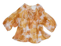 Orange blouse Stock Photo
