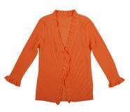 Orange blouse Royalty Free Stock Photography