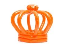 Orange blown up crown