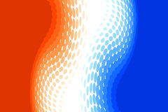 Orange And Blue Royalty Free Stock Images