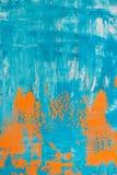 Orange and blue background Royalty Free Stock Image