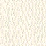 Orange Blue Hexagonal Pattern Background. Orange hexagonal pattern with white background. Could be used for background pattern royalty free illustration