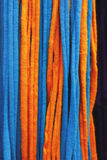 Orange and blue mesh Royalty Free Stock Image