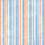 Orange and Blue Stripe Pattern Royalty Free Stock Photo