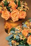 Orange Blumen Stockbilder