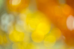 Orange blurred background Stock Photo