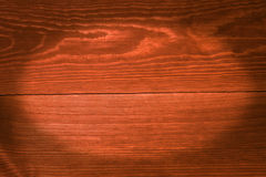 Orange boards, a background with vignette Royalty Free Stock Images