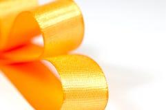 Orange Bogen Stockfoto