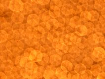 Orange bokeh Stock Images