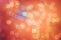 Orange Bokeh Abstract Background. Orange Bokeh Abstract  Background (Colorful Blurred Wallpaper Stock Image