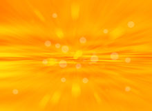 Orange bokeh abstract light background.blur background. Royalty Free Stock Photos
