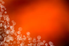 Orange bokeh abstract light background. Christmas background Royalty Free Stock Photography