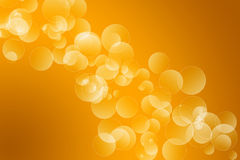 Orange bokeh background Royalty Free Stock Photos