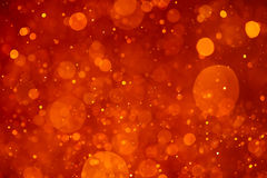 Orange bokeh background Royalty Free Stock Photography