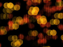 Orange bokeh blur abstract background Stock Photos