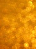 Orange bokeh Stock Image