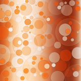 Orange Bokeh modell Arkivbilder