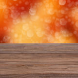 Orange bokeh texture Royalty Free Stock Image