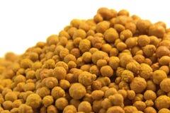 Orange bollar för ferric klorid royaltyfri bild
