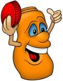 Orange Bottle Stock Image