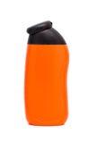 Orange  bottles with black cap Stock Photo