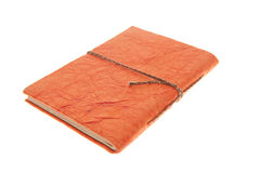 Orange Bound Journal , Isolated Diary Stock Photo