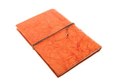 Orange Bound Journal , Isolated Diary Royalty Free Stock Photography