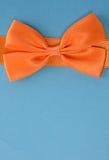 Orange bow Stock Photos