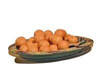 Orange bowl Stock Images