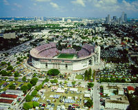 Orange Bowl Miami, FL Royalty Free Stock Images