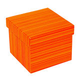 Orange box Stock Image