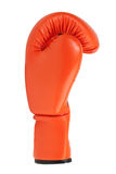 Orange boxing glove Royalty Free Stock Image