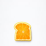 Orange bread. Royalty Free Stock Image
