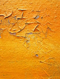Orange break wall Stock Photography