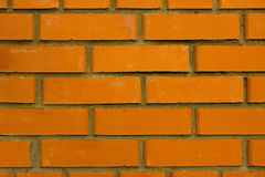 Orange Brick Royalty Free Stock Images