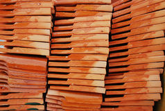 Orange Brick Stock Image