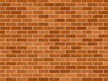 Orange Brick background stock illustration
