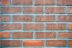 Orange Brick background. Detail of brick background royalty free stock images