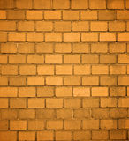Orange Brick Background Royalty Free Stock Photo