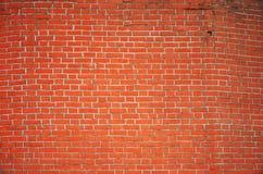 Orange brick block background wall Stock Images