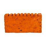 Orange brick Royalty Free Stock Image