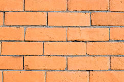 Orange brick wall Royalty Free Stock Photography