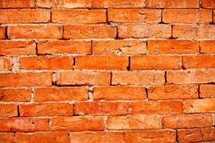Orange Brick wall Stock Image