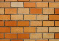 Orange brick wall background Stock Image