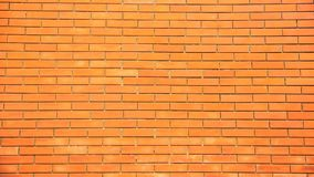 Orange brick wall background pattern Stock Image