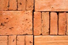 Orange brick wall background. Texture Stock Photography